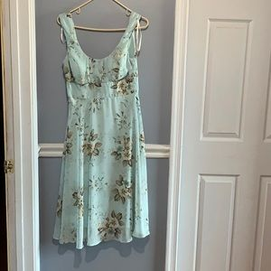 Dress barn sleeveless midi dress size 8